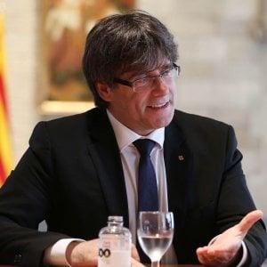 """Puigdemont, il """"Bolívar per caso"""" della Catalogna: """"Madrid non ci fermi"""""""