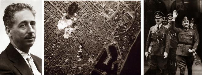 Companys + Bombardejos BCN 1938 + Franco