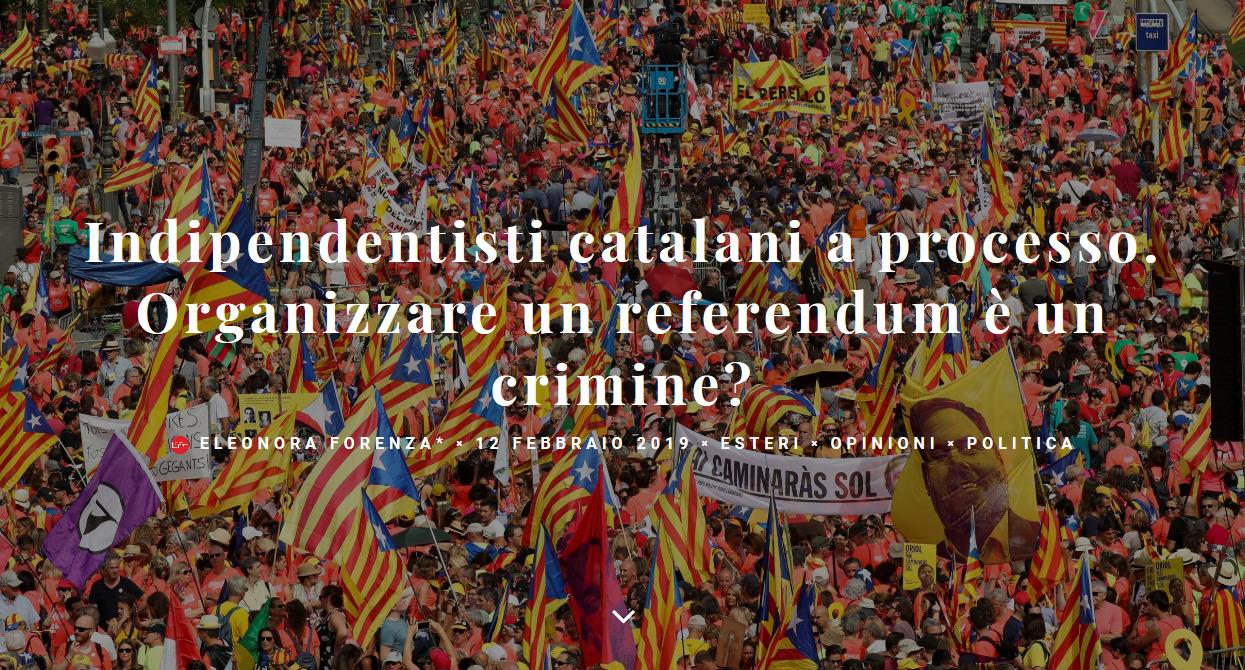 Screenshot_2019-02-12 Indipendentisti catalani a processo Organizzare un referendum è un crimine Left(1)
